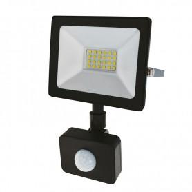Прожектор светодиодный с датчиком движения 20Вт IP44 1600лм 6500K холодный свет Rexant