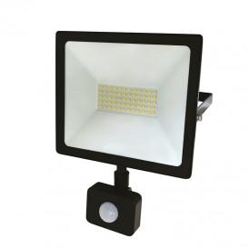 Прожектор светодиодный с датчиком движения 50Вт IP44 4000лм 6500K холодный свет Rexant