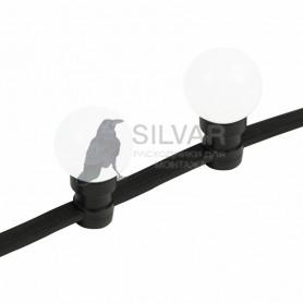 "Готовый набор: ""Евро Belt Light"" 2 жилы шаг 40 см, Белые LED лампы 45мм (6 LED)| 331-345 | NEON-NIGHT"