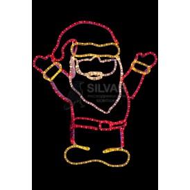 "Фигура ""Дед Мороз Привет!"", размер 83*69 см | 501-318 | NEON-NIGHT"