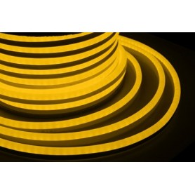 Гибкий Неон LED SMD, жёлтый, 120 LED/м, бухта 50м |131-051| NEON-NIGHT