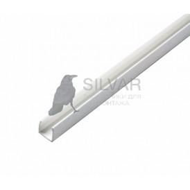 Короб пластиковый для Гибкого Неона 12х26, 1м|104-421| NEON-NIGHT