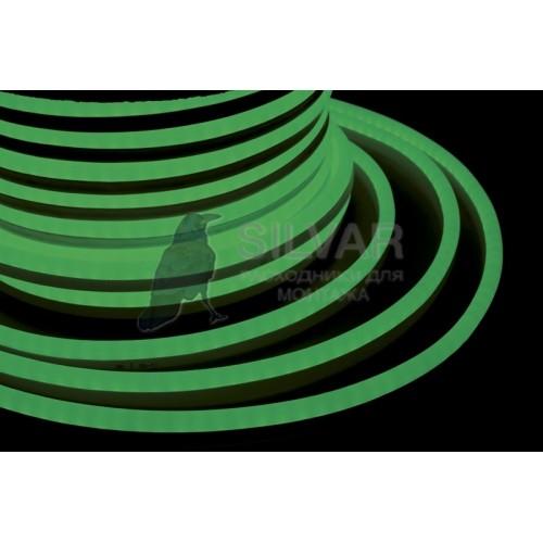 Гибкий Неон LED SMD, зелёный, 120 LED/м, бухта 50м |131-054| NEON-NIGHT