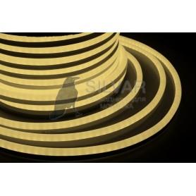 Гибкий Неон LED - ТЕПЛЫЙ БЕЛЫЙ, бухта 50м|131-016| NEON-NIGHT