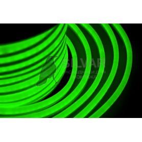 Гибкий Неон LED - зеленый, оболочка зеленая, бухта 50м |131-024| NEON-NIGHT