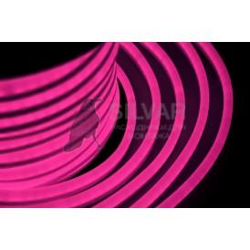 Гибкий Неон LED - розовый, оболочка розовая, бухта 50м |131-027| NEON-NIGHT