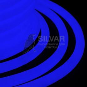 Гибкий Неон LED 360 (круглый) - синий, бухта 50м|131-033| NEON-NIGHT