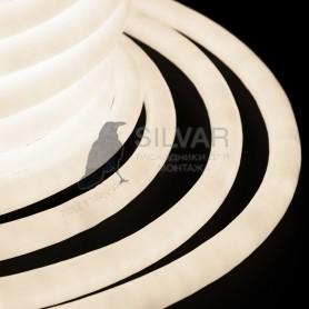 Гибкий Неон LED 360 (круглый) - ТЕПЛЫЙ БЕЛЫЙ, бухта 50м|131-036| NEON-NIGHT