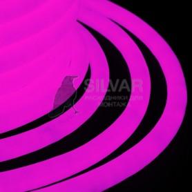 Гибкий Неон LED 360 (круглый) - розовый, бухта 50м|131-037| NEON-NIGHT