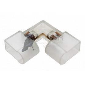 Коннектор для Гибкого Неона 12х26 внутренний угол (без иглы) |134-024| NEON-NIGHT