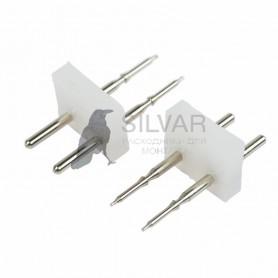 Разъем-иглы для соединения Гибкого Неона 12х26 на шнур/коннектор|134-027| NEON-NIGHT