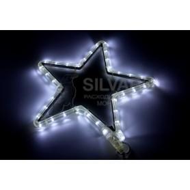 "Фигура световая ""Звездочка LED"" цвет белый, размер 30*28 см  | 501-211-1 | NEON-NIGHT"