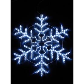 """Фигура световая """"Снежинка"""" цвет белый, размер 95*95 см, мерцающая    501-338   NEON-NIGHT"""