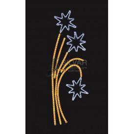 """Фигура световая """"Звездный фейерверк"""" размер 85*175 см   501-336  NEON-NIGHT"""