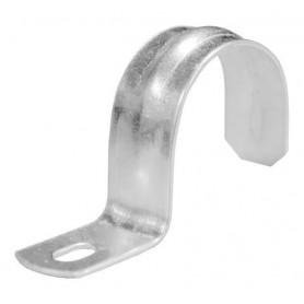 Скоба металлическая однолапковая 10 мм