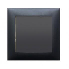 Выключатель 1-кл.  (схема 1) 16 A, 250 B (черный бархат) LK60 | 860108| Экопласт