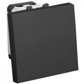 Выключатель 45х45 мм (схема 1) 16 A, 250 B (черный бархат) LK45 | 850708 | Экопласт