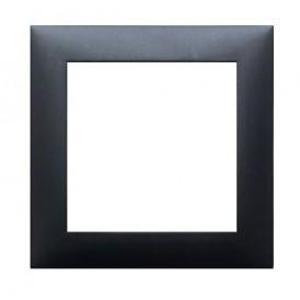 Рамка 1-постовая (черный бархат) LK60