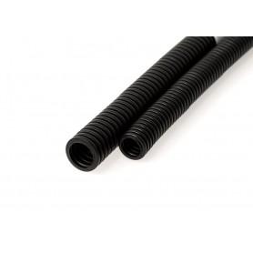 Труба гофрированная ПНД HF Строительная безгалогенная  черная с/з д32 мм (25 м) Промрукав