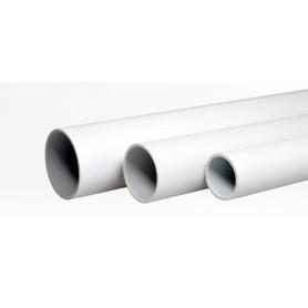Труба жесткая гладкая ПВХ 16мм лёгкая 3м (150м/уп) | 01416 | Промрукав