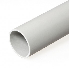 Труба жесткая гладкая ПВХ 16мм тяжёлая 3м (150м/уп) | 0416 | Промрукав