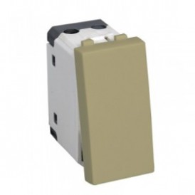 Выключатель 45х22,5 мм бежевый Экопласт LK45