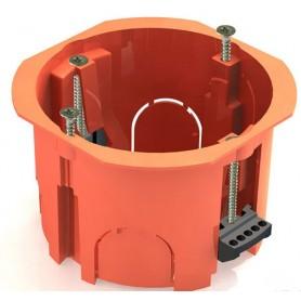 GE40022 Коробка установочная для полых стен 65х45мм (пластиковые лапки), IP20