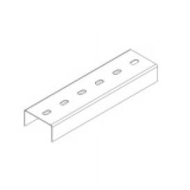 Профиль монтажный U-образный 80х40х3000 (2 мм) | СП804020U1-3 | OSTEC