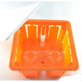 Коробка распаячная 92х92х45 для скрытого монтажа GE41001