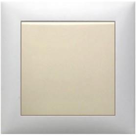 Выключатель 1-кл.  (схема 1) 16 A, 250 B (бежевый) LK60 | 860101| Экопласт