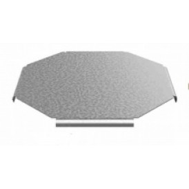 Крышка к крестообразному угловому соединителю лотка УЛ 600 | КУСХР-600 УЛ | OSTEC