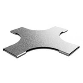 Крышка к разветвителю крестообразному плавному к лотку 50х50 | КХТп-50 | OSTEC