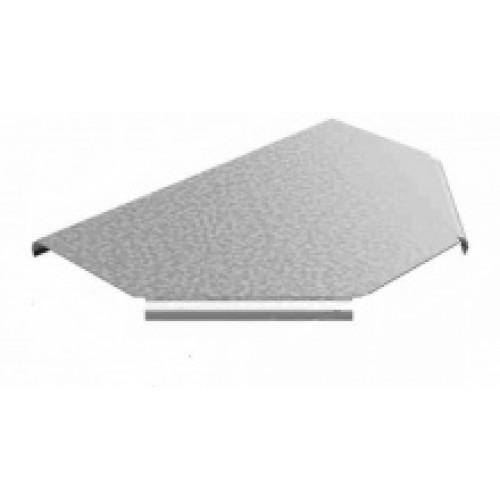 Крышка к Т-образному угловому соединителю лотка УЛ 200 | КУСТР-200 УЛ | OSTEC