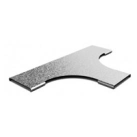 Крышка к Т-отводу плавному к лотку OSTEC 400х50 | КТТп-400 | OSTEC