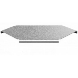 Крышка к Угловому соединителю плоскому к лотку УЛ 100 | КУСПР-100 УЛ | OSTEC