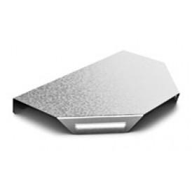 Крышка к Угловому соединителю Т-образному к лотку 100 | КУСТ-100 | OSTEC