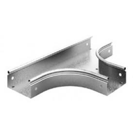 Отвод Т-образный плавный к лотку OSTEC 100х100 | ТТп-100х100 | OSTEC