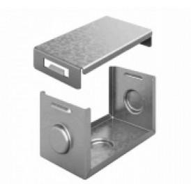 Система защиты стыка IP44 для лотка 50х50 | СЗСЛ-50х50 | OSTEC