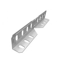 Соединитель лотковый универсальный. изменяемый для лотка высотой 50мм | СЛУИ-50 | OSTEC