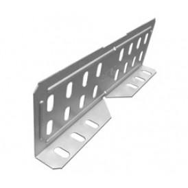 Соединитель лотковый универсальный. изменяемый для лотка высотой 80/100мм | СЛУИ-80/100 | OSTEC