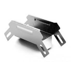 Соединитель угловой внешний к лотку 100х100 | УСВ-100х100 | OSTEC