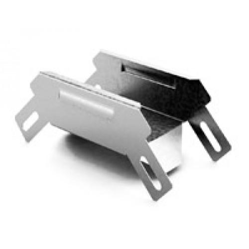 Соединитель угловой внешний к лотку 300х80 | УСВ-300х80 | OSTEC