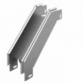 Соединитель угловой внешний к лотку УЛ 100х100 | УСВР-100х100 УЛ | OSTEC