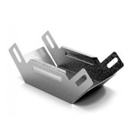 Соединитель угловой внутренний к лотку 100х100 | УСВН-100х100 | OSTEC