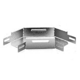 Соединитель угловой плоский к лотку 100х100 | УСП-100х100 | OSTEC