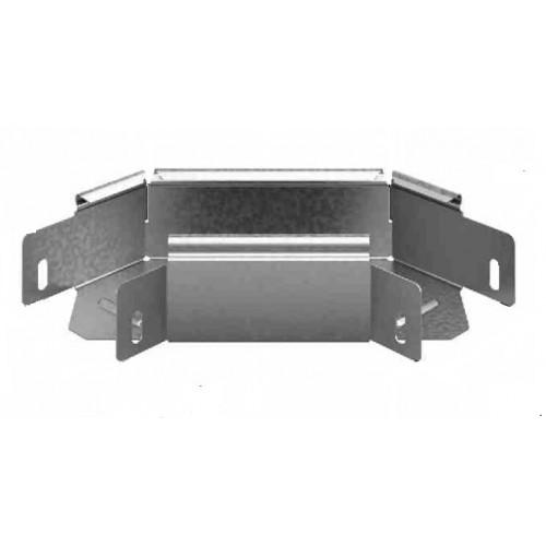 Соединитель угловой плоский к лотку УЛ 400х80 | УСПР-400х80 УЛ | OSTEC