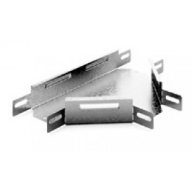 Соединитель угловой Т-образный к лотку 100х80 | УСТ-100х80 | OSTEC