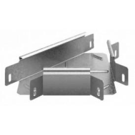 Соединитель угловой Т-образный к лотку УЛ 100х65 | УСТР-100х65 УЛ | OSTEC