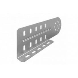 Соединитель универсальный шарнирный для лотка УЛ высотой 100 мм (1,2 мм) | СЛУШ-100 (1,2 мм) УЛ | OSTEC