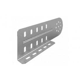 Соединитель универсальный шарнирный для лотка УЛ высотой 100 мм (1,5 мм) | СЛУШ-100 (1,5 мм) УЛ | OSTEC